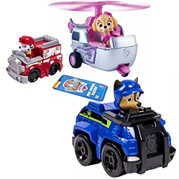 Spin Master Paw Patrol Rescue Racers 3: : Spielzeug