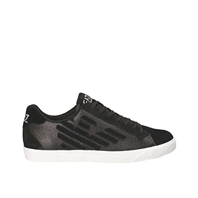 Emporio Armani EA7 Damenschuhe Turnschuhe Damen Wildleder Schuhe Sneakers  pride metal Schwarz EU 37.13 248008 7A299