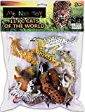 Mr. Nice Toy 11 Piece Cats of the World Assortment 3'' to 6'' figures