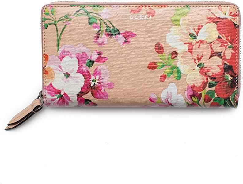 5c4d72f848e6 Amazon.com: Gucci Shanghai St Beige Blooms Apricot Leather Continental  Wallet Italy New: Shoes