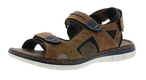 Modisch Damen Schuhe Rieker Trekking Sandalen The Style