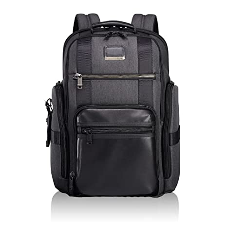TUMI - Alpha Bravo Sheppard Deluxe Brief Pack Laptop Backpack - 15 Inch  Computer Bag for 7ee561cedf8