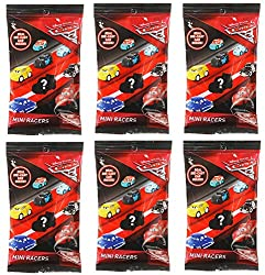 Disney Bundle Of 6 Pixar Cars 3 Die-cast Mini Racers Blind Bags 6 3, Bundle Of 6 Pixar Cars 3 Die-cast Mini Rac