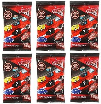 Disney Bundle Of 6 Pixar Cars 3 Die-cast Mini Racers Blind Bags 6 3, Bundle Of 6 Pixar Cars 3 Die-cast Mini Rac 0