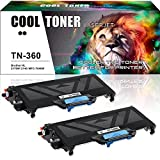 brother 2140 - Cool Toner Compatible for Brother TN 360 TN-360 TN330 TN360 Toner for Brother MFC 7840W MFC-7840w MFC 7340 MFC-7340 MFC 7440N HL-2170w HL-2140 DCP 7040 DCP 7030 Printer Toner Cartridge