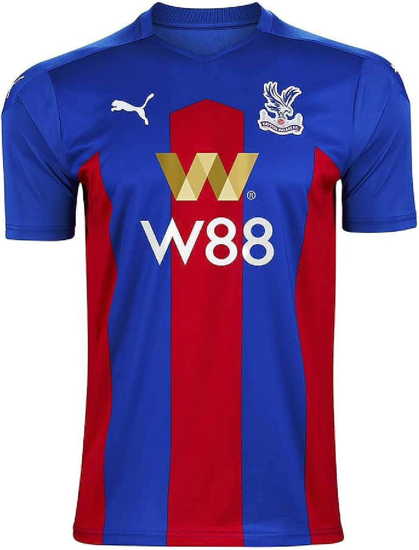 Crystal Palace FC Men's Home Football Shirt Soccer Jersey 2020-2021