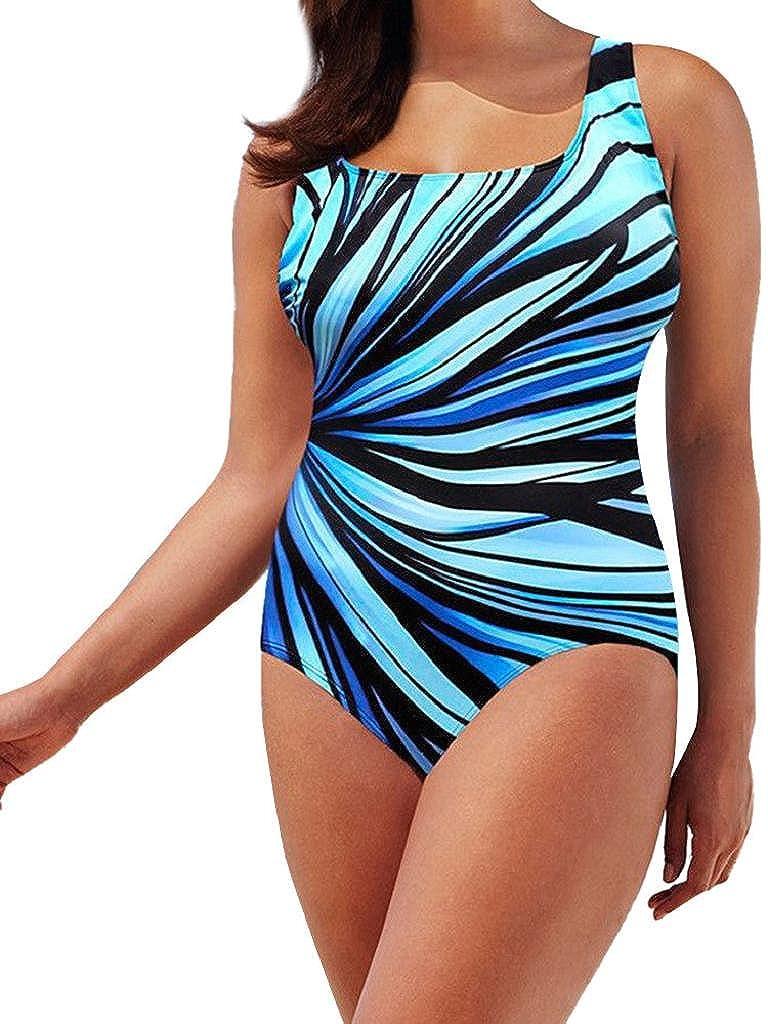 Traje de Baño Mujer 2020 SHOBDW Sexy Negro Traje de Baño Mujer Una Pieza Conjunto de Bikini Push Up Acolchado Bra Tankinis Mujer Un Hombro Bañadores de Mujer Reductores