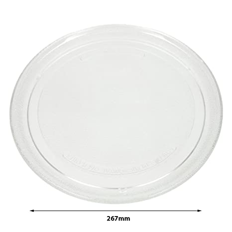 SPARES2GO 305mm Turntable Plate for Belling Microwave