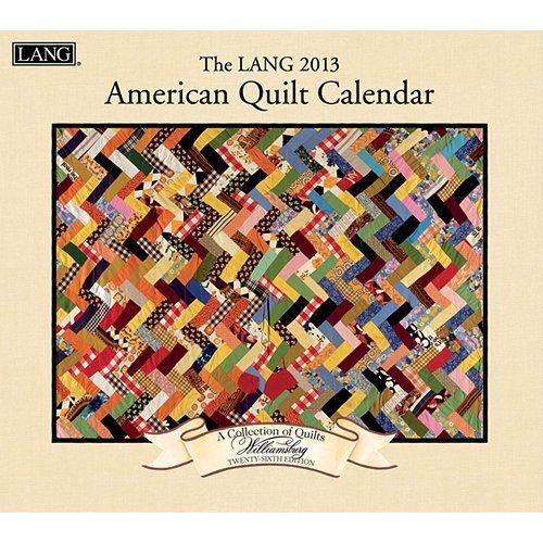 The Lang American Quilt Wall Calendar 2013