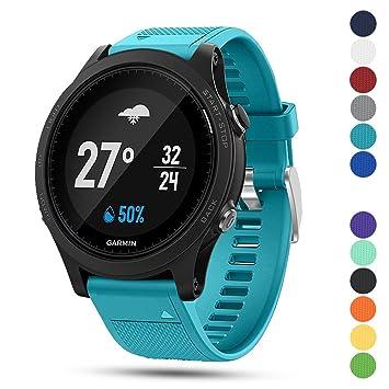iFeeker Correa para reloj deportivo Garmin Forerunner 935 GPS, de 22 ...