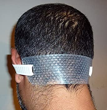 amazon com neck hair line a template for shaving and keeping a