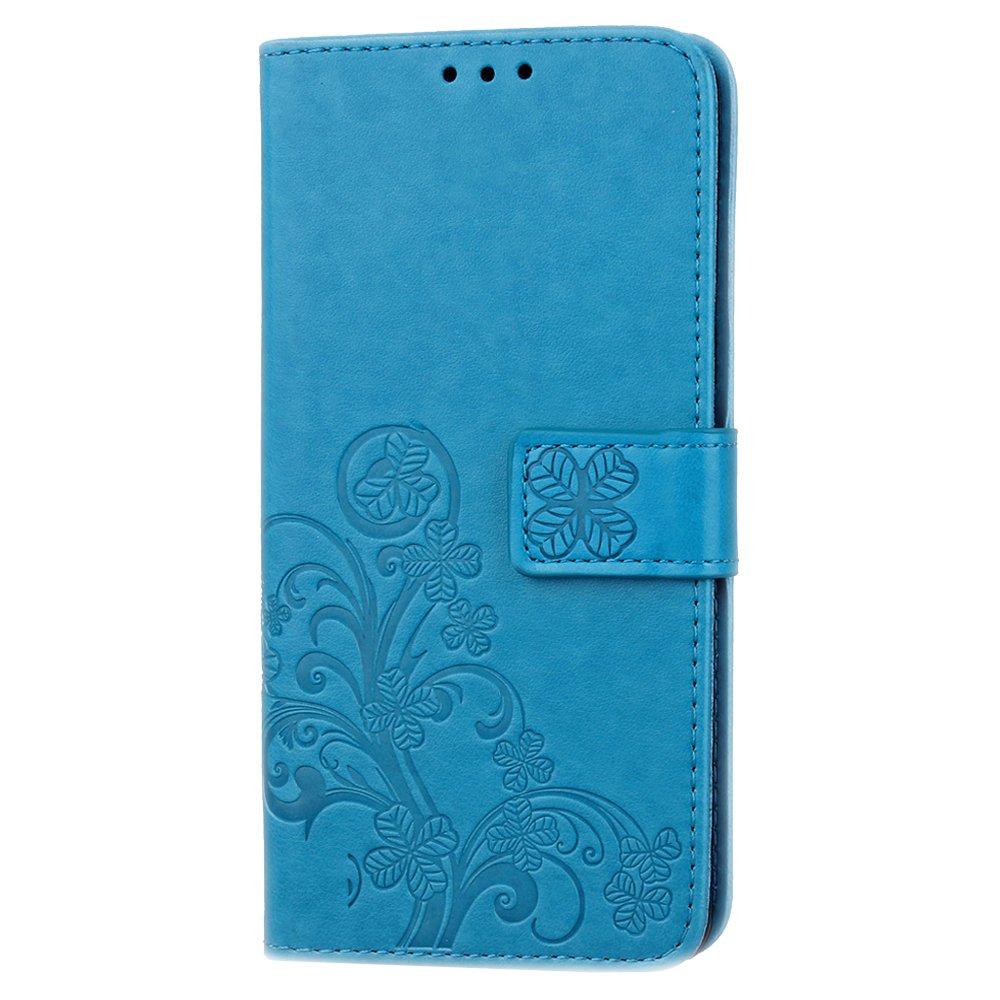 FoneExpert/® Wiko View Wallet Case Cover Flower H/üllen Etui H/ülle Ledertasche Lederh/ülle Schutzh/ülle F/ür Wiko View Handy Tasche 5.7 5.7