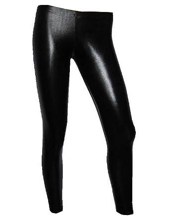 c5d29e6c623b4 Amazon.com: Insanity Womens Metallic Wet Look Leggings: Clothing