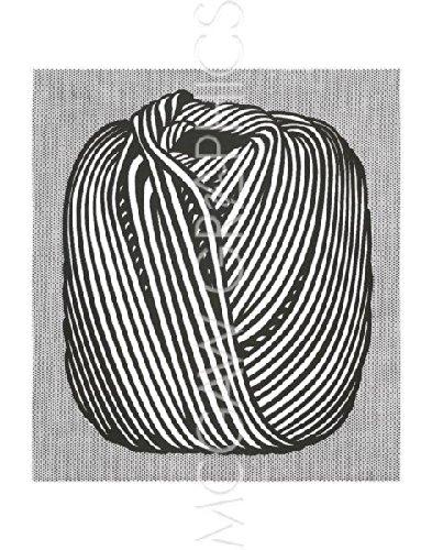 Ball of Twine, 1963 (serigraph) by Roy Lichtenstein Art Print Poster 14
