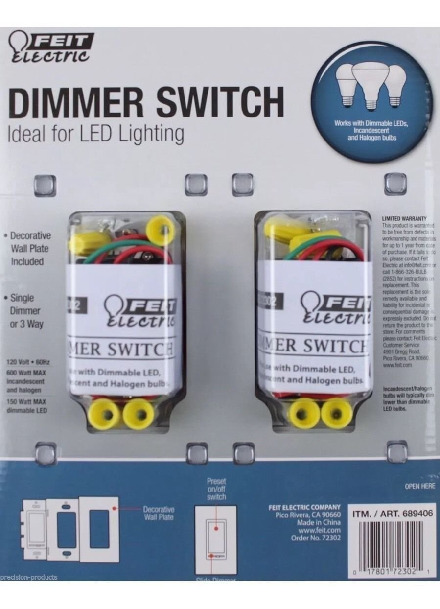 Feit electric dimmer switch (689406) - - Amazon.com