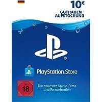 PSN Card-Aufstockung | 10 EUR | PS4, PS3, PS Vita Playstation Network Download Code - deutsches Konto