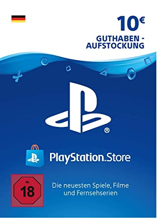 playstation karte PSN Card Aufstockung | 10 EUR | PS4, PS3, PS Vita Playstation