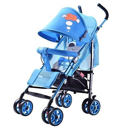 Amazon.es: HSDDA Carro de bebé Ligero Carrito de bebé El ...
