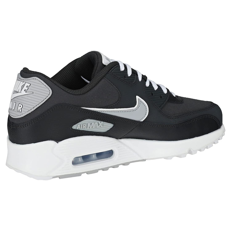 Nike Air Max 90 Essential, Chaussures de Running Compétition Homme, Gris (Wolf Grey/Pure Platinum-White 088), 40.5 EU