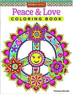 Peace Love Coloring Book Is Fun Design Originals 30 Far