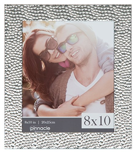 Pinnacle Frames and Accents 8 x 10 Hammered Frame, - Frame Photo Hammered