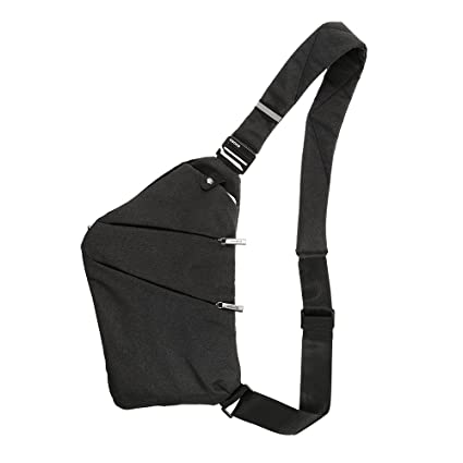 24f1ce3d35 Lixada Sling Backpack Chest Bag Lightweight Outdoor Sport Travel Hiking Anti  Theft Crossbody Shoulder Pack Bag Daypack for Men Women