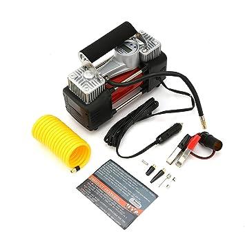 Compresor de aire, 12V 150Psi Compresor de aire digital neumático Kit inflador de neumáticos con indicador de pantalla digital y mango portátil: Amazon.es: ...
