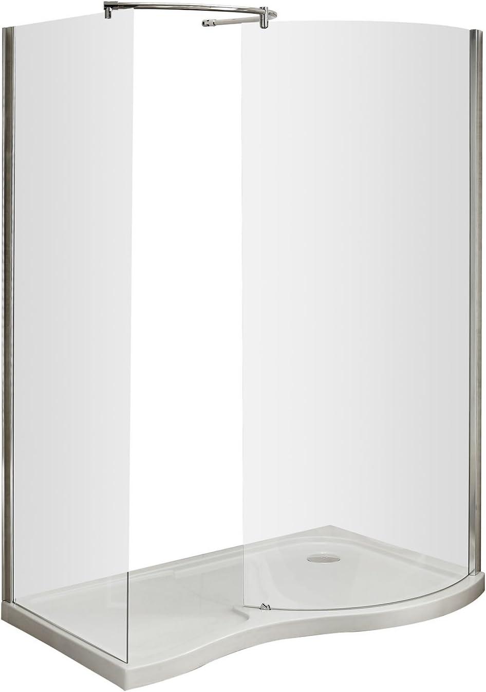 Premier AQW Mampara de ducha, transparente: Amazon.es: Bricolaje y herramientas