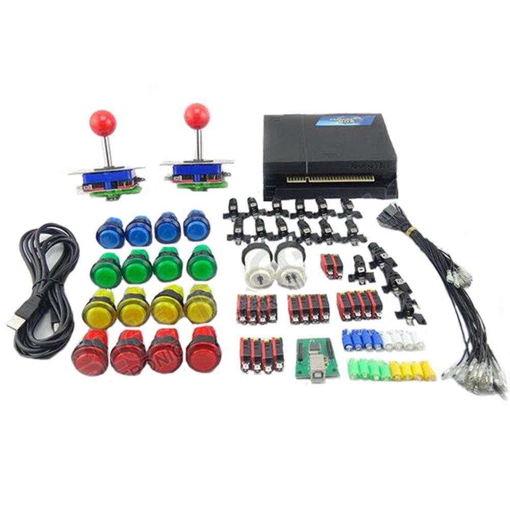 WINIT Game Machine Accessiries Pandora's box 3 520 in 1 Jamma Multi Game Board DIY Arcade buttons and Joystick Kits