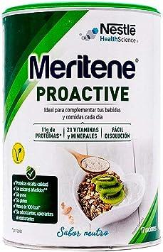 Meritene® PROACTIVE - Ingredientes con beneficios sobre el ...