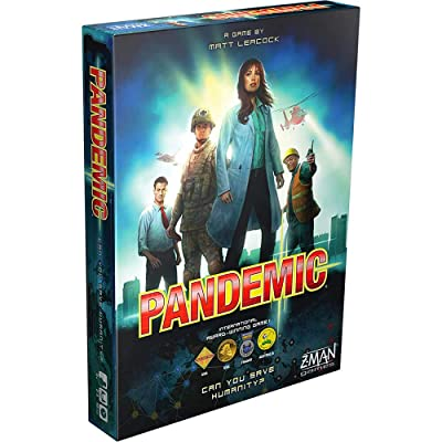 Z-Man Games ZM7101 Pandemic Board Game: Electronics