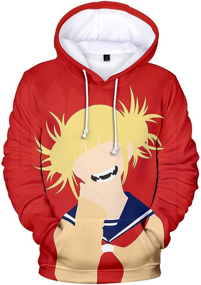 3D Graphic Printed Hooded Sweatshirt for Lovers Men and Women Peoria My Hero Academia Hoodie