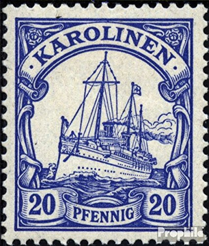Carolines (German.Colony) 10 1901 Ship Imperial Yacht Hohenzollern (Stamps for Collectors) seafaring