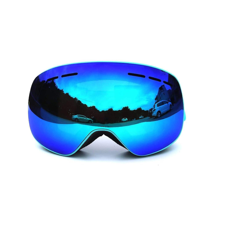 Daesar Schnee Brille Fahrrad Schwarz Silber Brille Winddicht Radsport Schutzbrille DAEXFL14HMJ1407