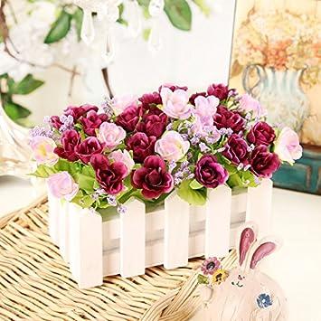 Fleurs Artificielles Shiqi Real Touch Fleur Fausse Fete Champetre
