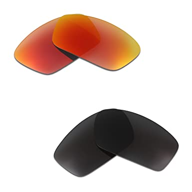 HKUCO Plus Mens Replacement Lenses For Oakley Splinter - 2 pair ZodB5