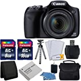 Canon PowerShot SX530 HS Digital Camera with 50x Optical Image Stabilized Zoom with 3-Inch LCD HD 1080p Video (Black…