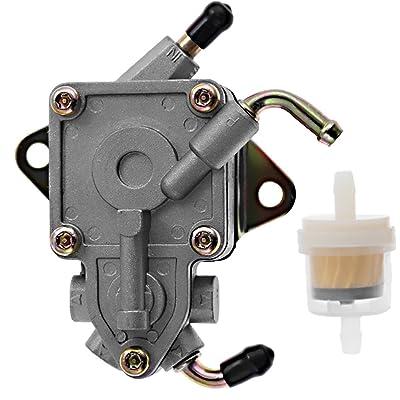 5UG-13910-00-00 Fuel Pump W/Filter Assembly For Yamaha Rhino 660 2004-2007: Automotive