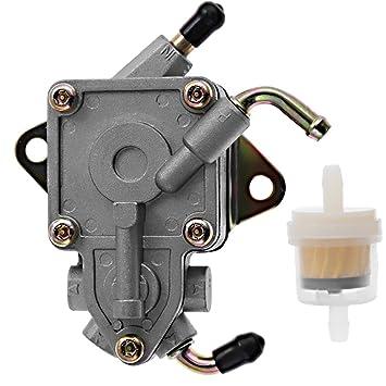 Amazon.com: Fuel Pump embly W/Filter for Yamaha Rhino 660 ... on