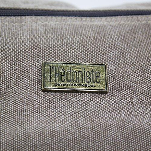 Balviborsa da viaggiol'HédonisteColoreMarroneConcompartimentoseparatoperlescarpeTela/polyestere/fintapelle
