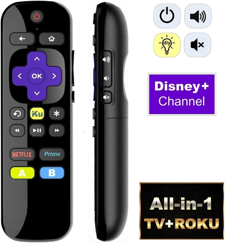 Mando a Distancia Universal IR Compatible con Roku Player y Roku TV (no para Roku Stick): Amazon.es: Electrónica