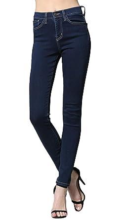 Flying Monkey Hannah High Waisted Medium Wash Jeans at Amazon ... 97c01d5241ff0