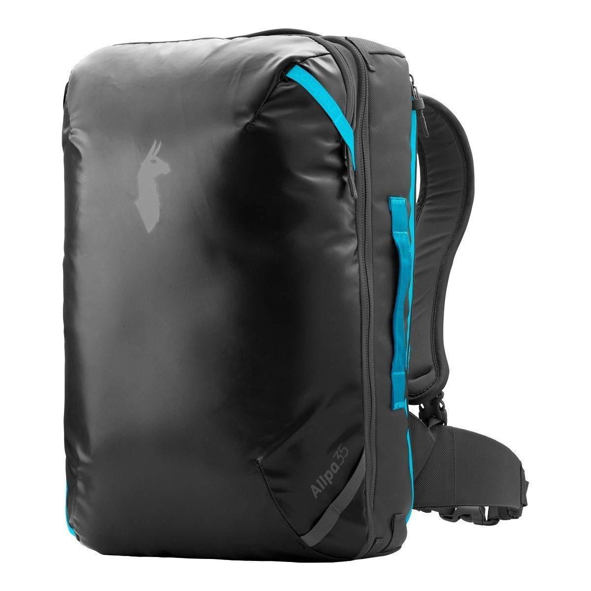 Cotopaxi Allpa 35L Travel Pack - Black/Blue 35L