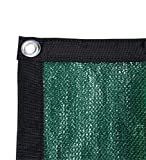 Shatex Shade Fabric for Pergola/Patio/Garden New Design Shade Panel with Grommets 12x20ft Frostgreen For Sale