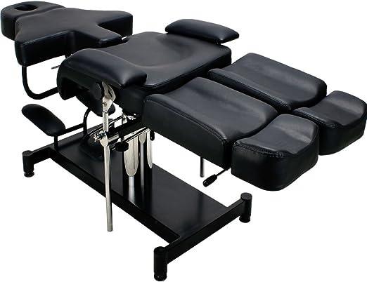 Silla de tatuaje estética mesa de masaje cama tratamientos camilla ...