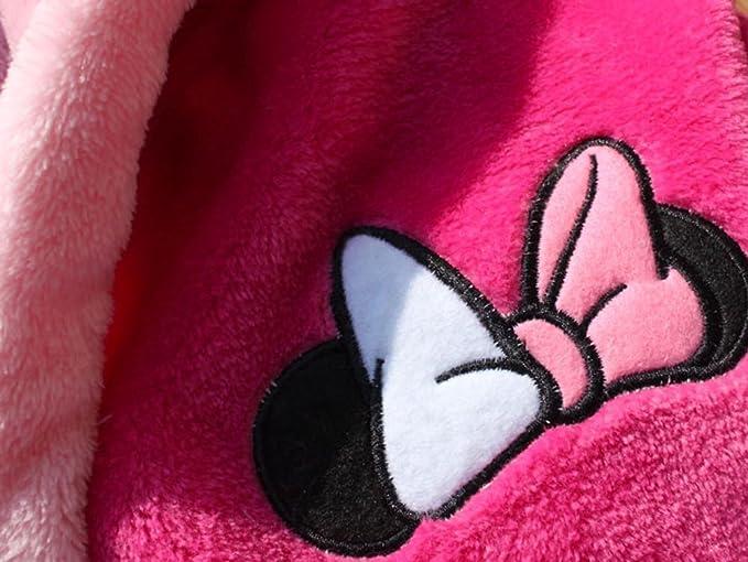 2018 Nombre bordado Bow Girl Albornoz Coral Cashmere Childrens Nightgown: Amazon.es: Ropa y accesorios