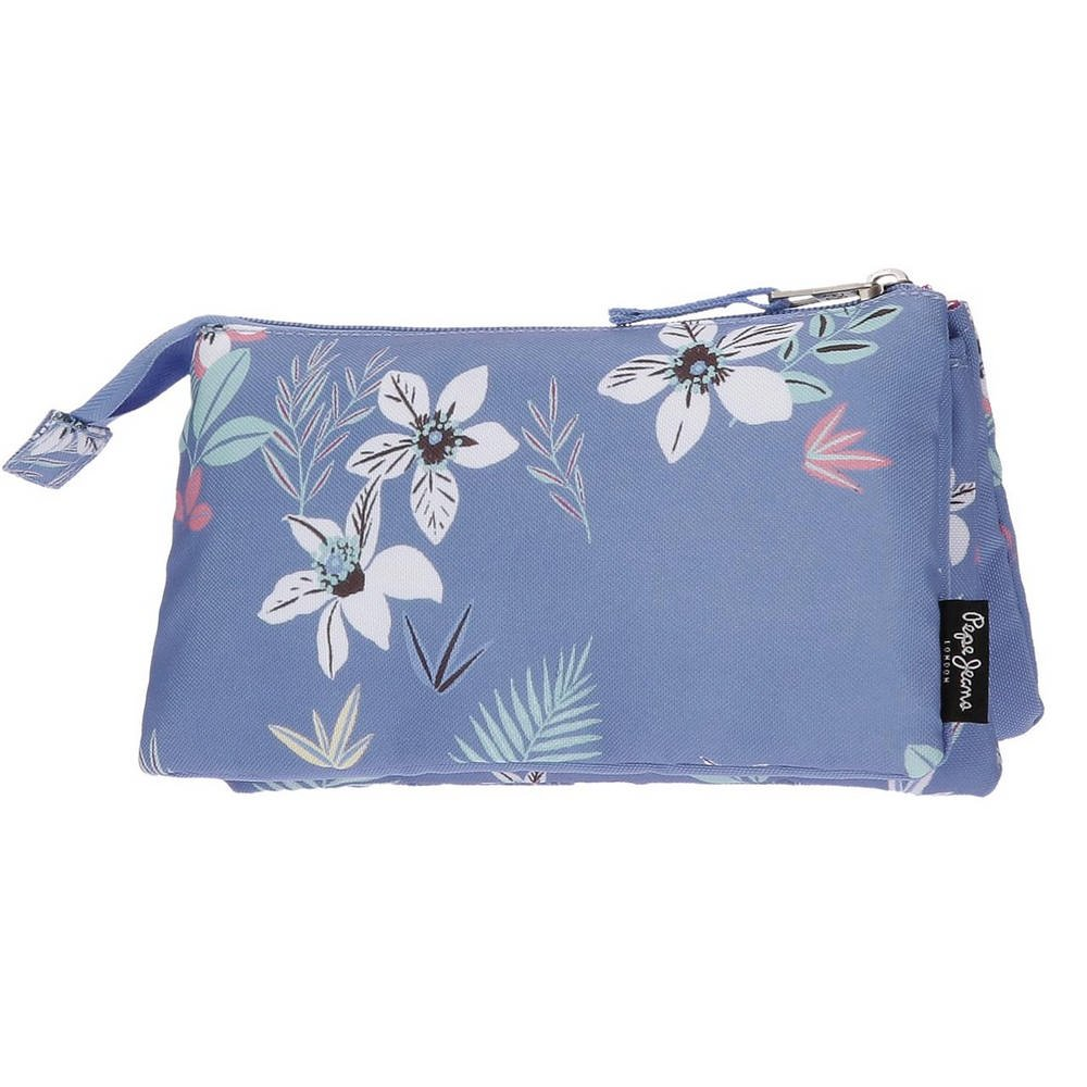 Pepe Jeans Mireia Neceser de Viaje, 22 cm, 1.32 litros, Azul ...