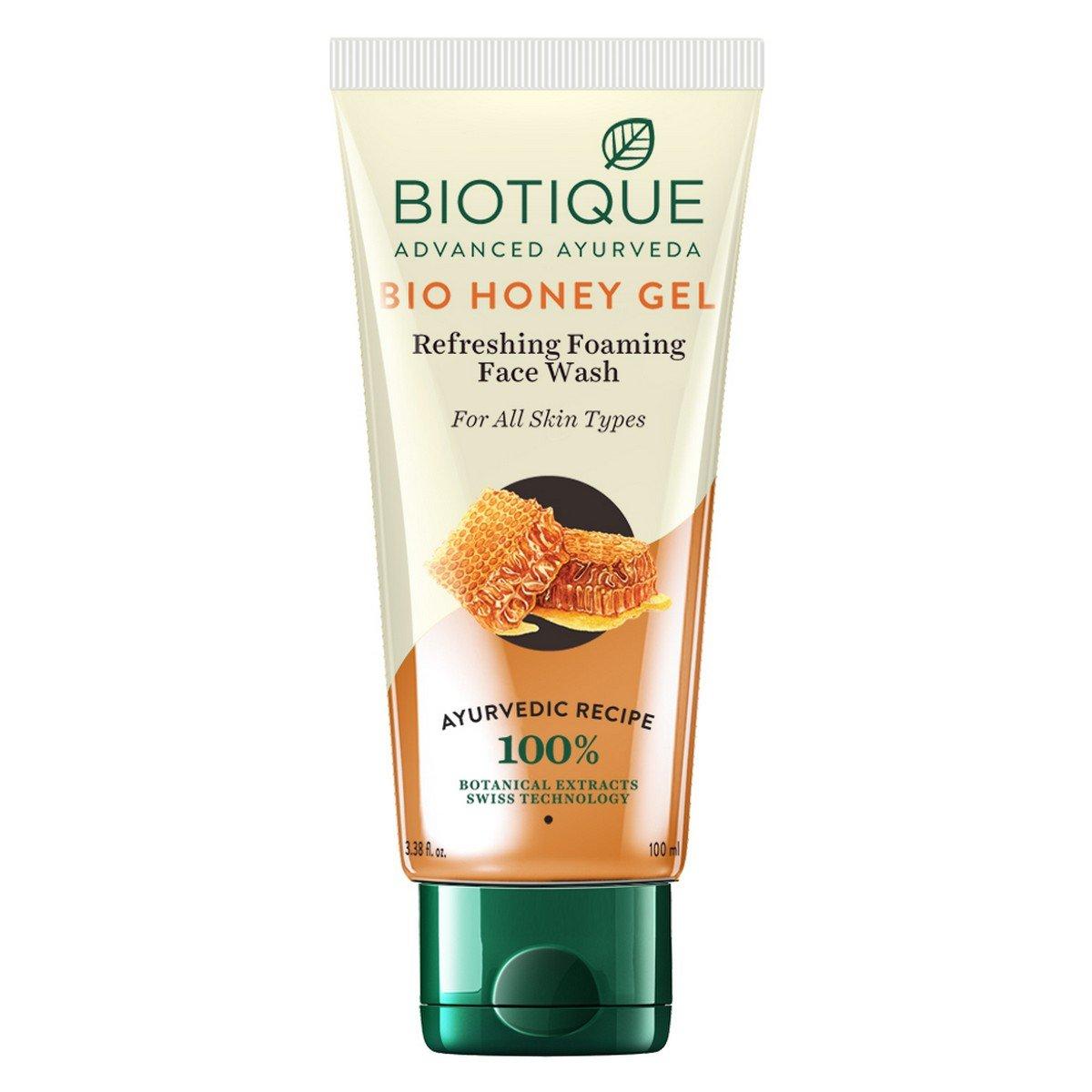 Biotique BIO Honey Gel Face Wash for All Skin Types, 100 ml