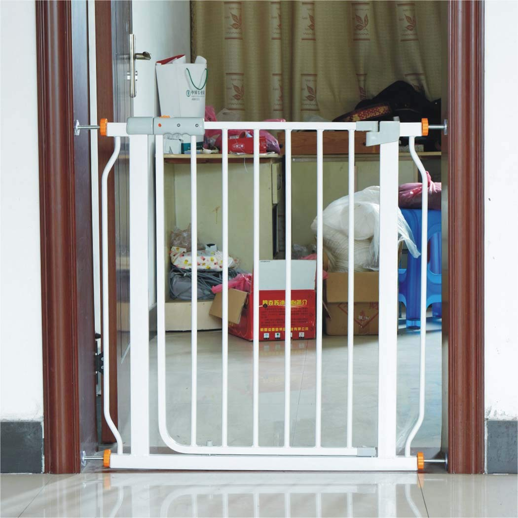 7683cminssizetionsize Safety 1st Easy Install Metal Baby Gate with Pressure Mount Fastening (White), Pet Gate,7683cminssizetionsize