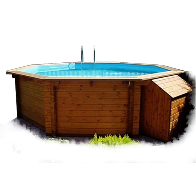 K2O Piscina de madera 520 x 130 cm + depuradora de arena: Amazon.es: Juguetes y juegos